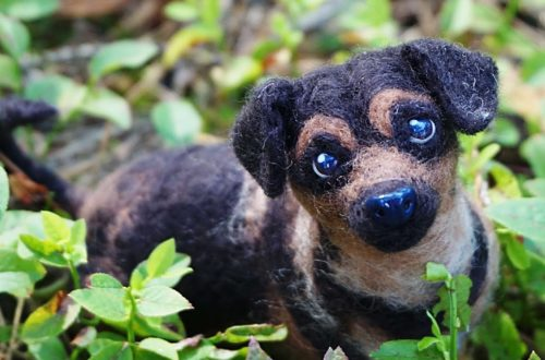 portret figurka psa na zamówienie
