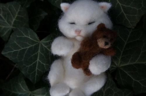 figurka kota psa
