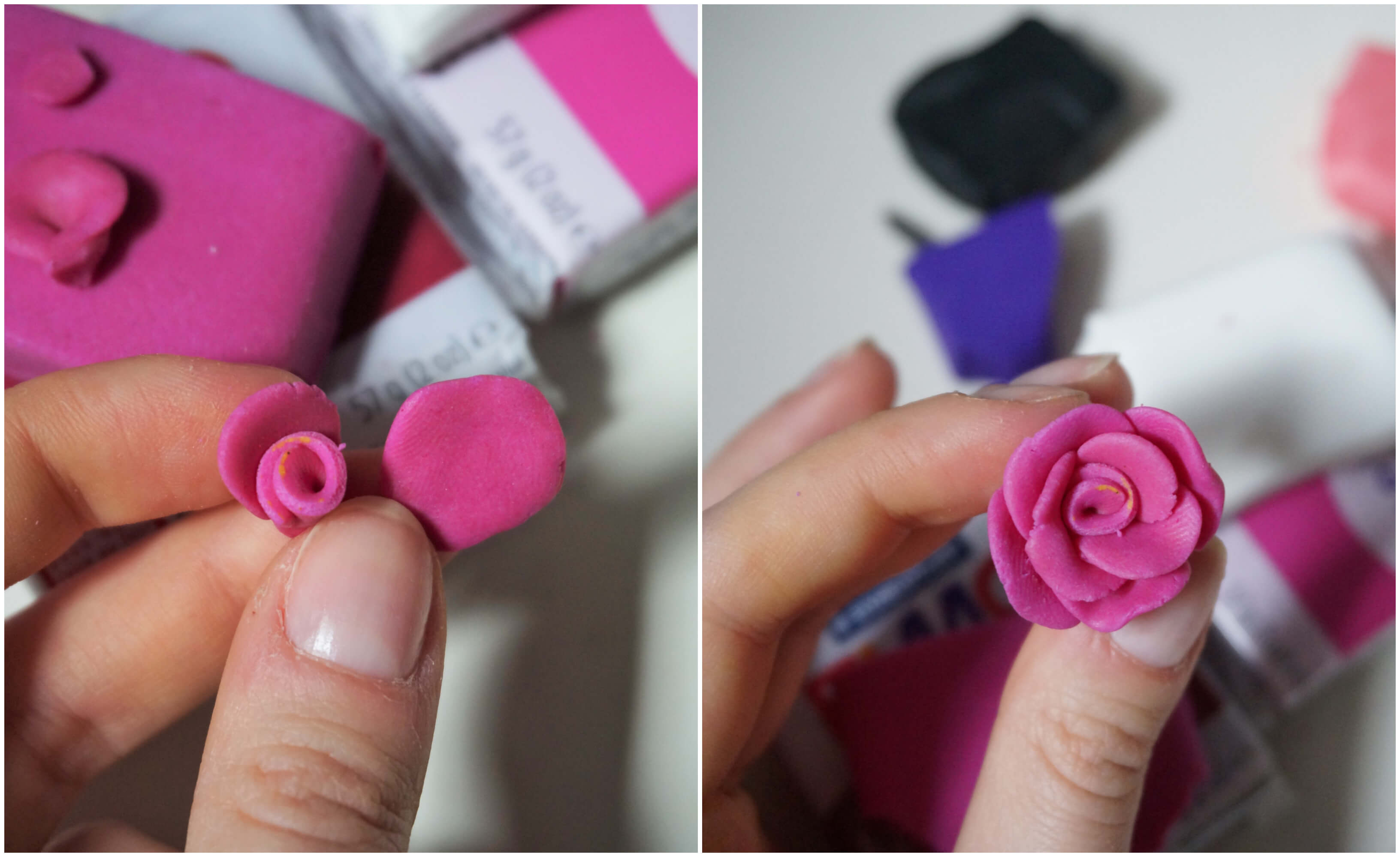 kubek jednorożec kwiaty diy