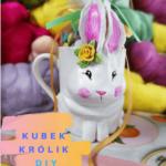 kubek modelina królik