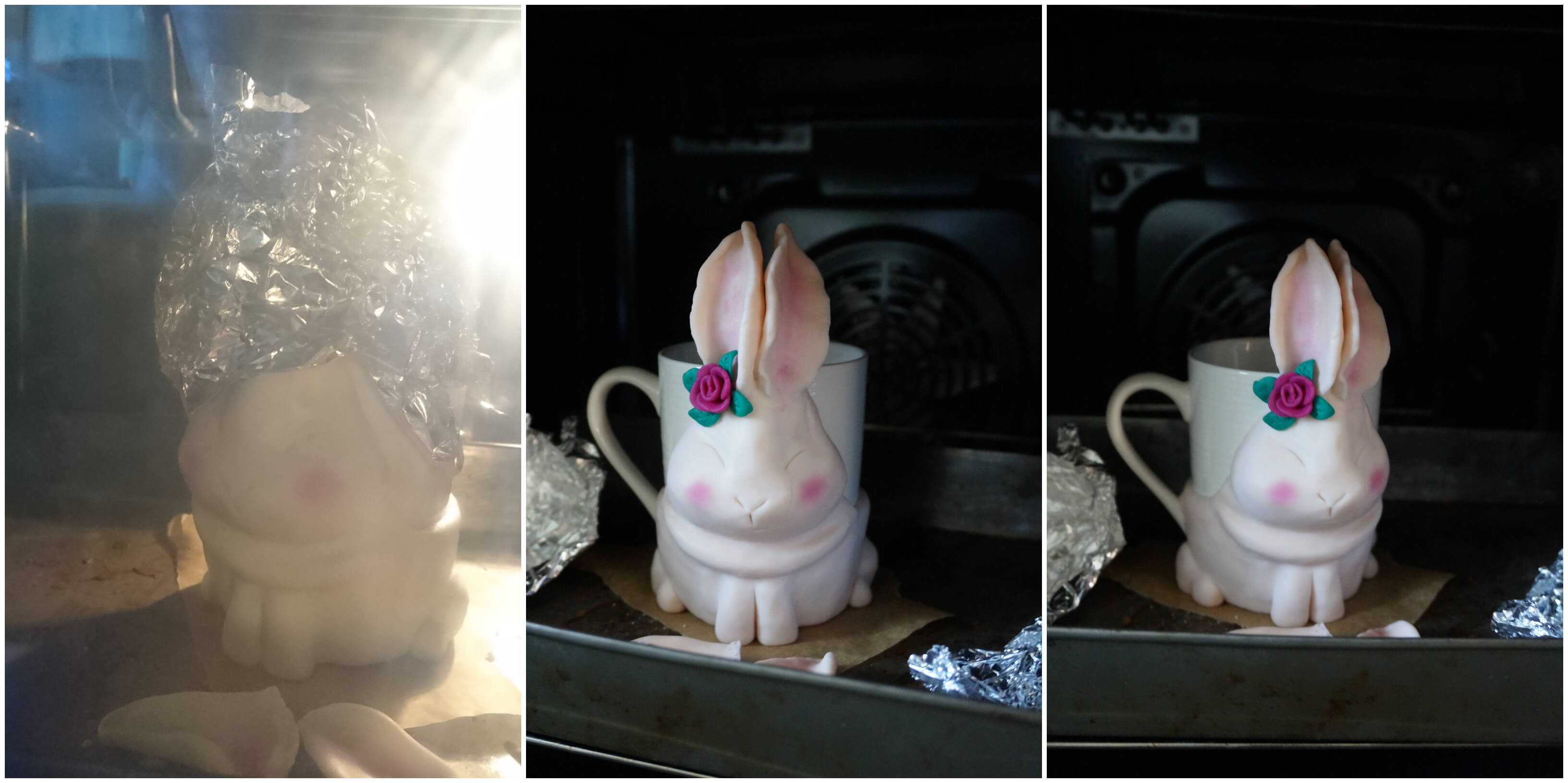 wielkanocny królik kubek