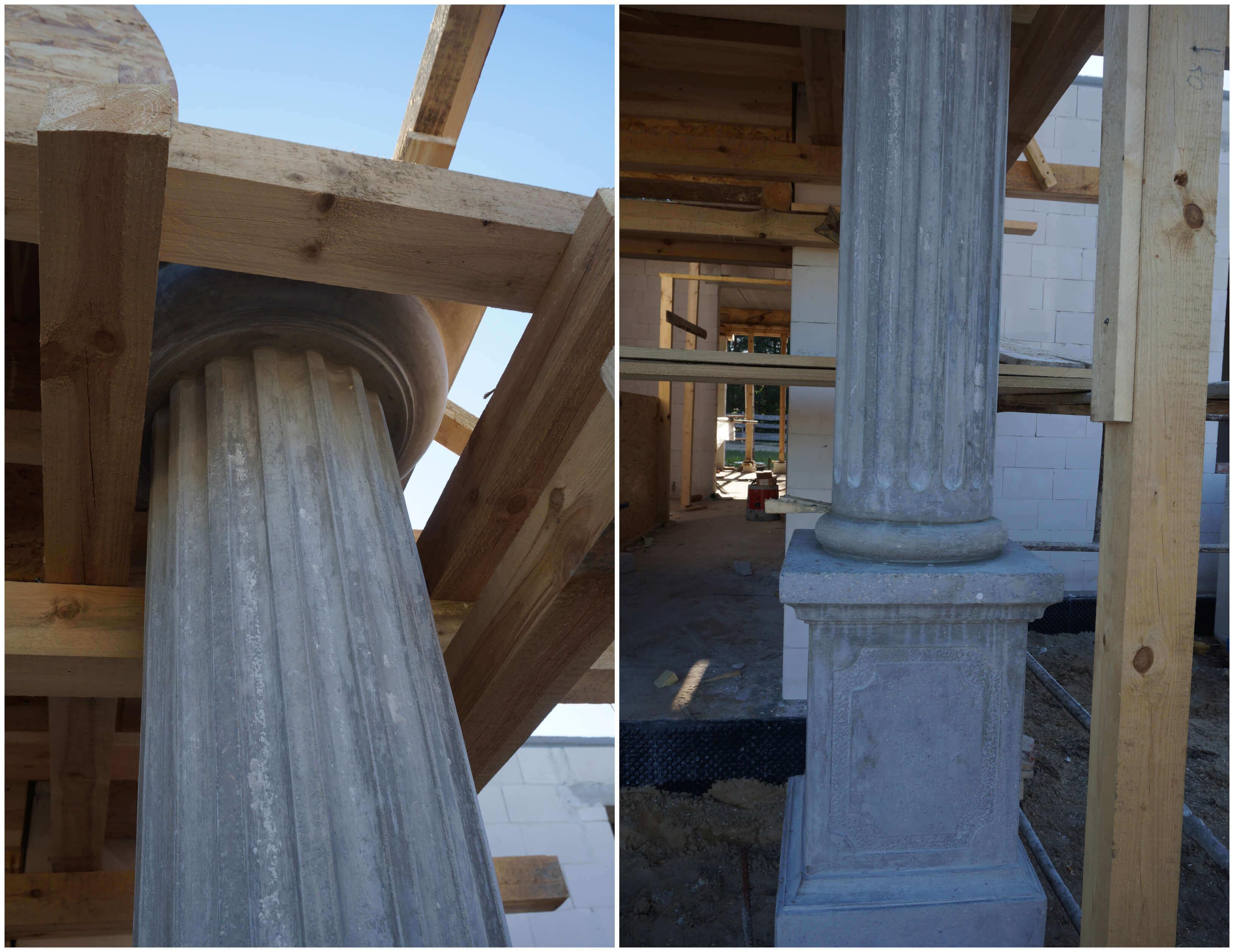 dworek kolumny monolit 2