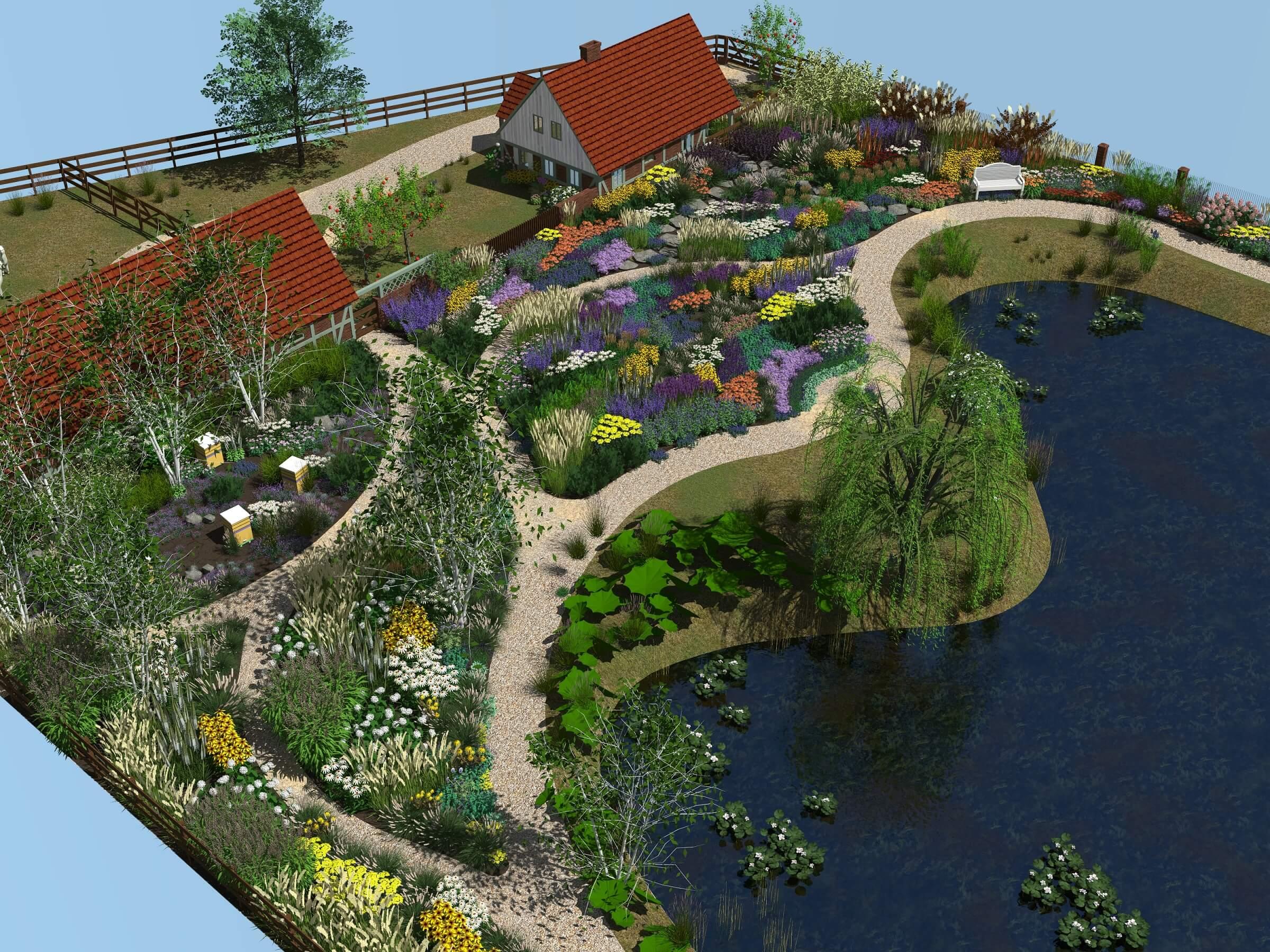 projekt ogrodu naturalistyczny